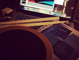 Drumsticks and Music