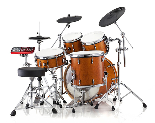 Aberdeen Music Lessons Student playing Drum Kit